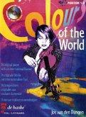 Colours of the World, für Violine, m. Audio-CD