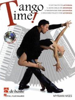 Tango Time!, für Akkordeon, m. Audio-CD