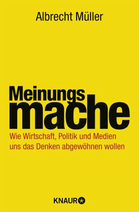 Meinungsmache - Müller, Albrecht