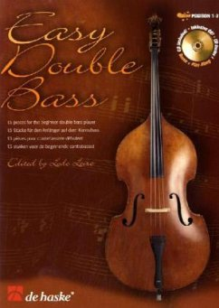 Easy Double Bass, Kontrabass u. Klavier, m. Audio-CD
