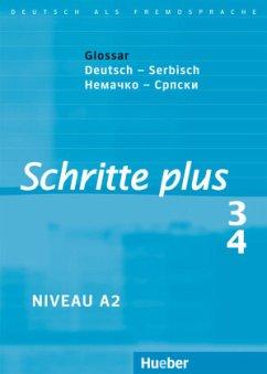Schritte plus 3 + 4. Glossar Deutsch-Serbisch