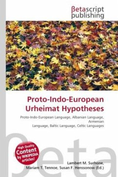 Proto-Indo-European Urheimat Hypotheses