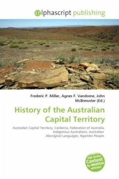 History of the Australian Capital Territory