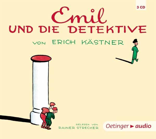 Emil und die Detektive, 3 Audio-CDs - Kästner, Erich