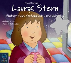 Fantastische Gutenacht-Geschichten / Lauras Stern Gutenacht-Geschichten Bd.6 (Audio-CD) - Baumgart, Klaus; Neudert, Cornelia
