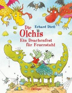 Ein Drachenfest für Feuerstuhl / Die Olchis Bd.4 - Dietl, Erhard
