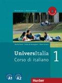 UniversItalia 1. Kurs- und Arbeitsbuch mit 2 integrierten Audio-CDs