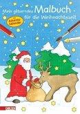 Mein glitzerndes Malbuch für die Weihnachtszeit