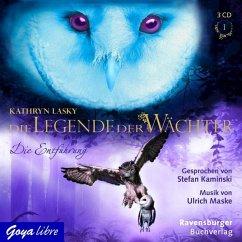 Die Entführung / Die Legende der Wächter Bd.1 (3 Audio-CDs) - Lasky, Katherine