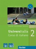 UniversItalia 2. Kurs- und Arbeitsbuch mit integrierter Audio-CD