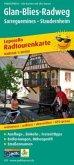 PublicPress Radwanderkarte Glan-Blies-Radweg, 12 Teilktn.