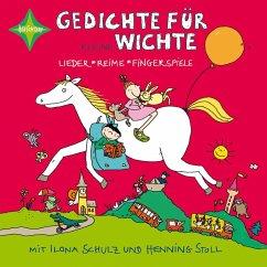Gedichte für kleine Wichte, 1 Audio-CD - Kuhn, Nina