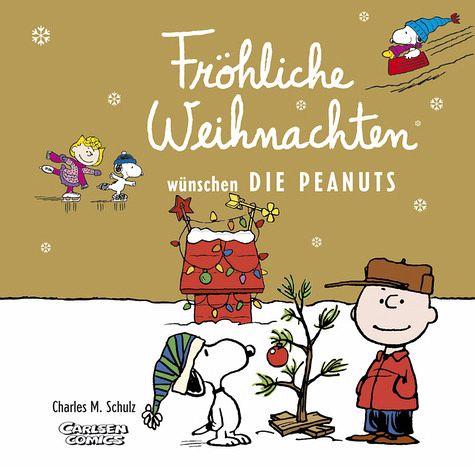 fr hliche weihnachten w nschen die peanuts von charles m