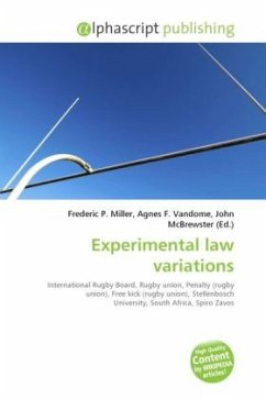 Experimental law variations