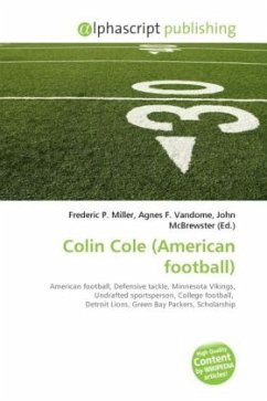 Colin Cole (American football)