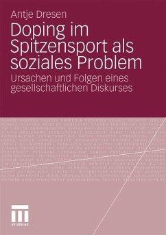 Doping im Spitzensport als soziales Problem