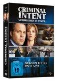 Criminal Intent - Verbrechen im Visier - Season 3.1 DVD-Box