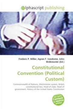 Constitutional Convention (Political Custom)