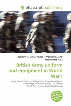 British Army uniform and equipment in World War I