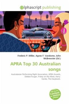 APRA Top 30 Australian songs