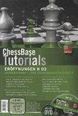 Damengambit und Damenbauernspiele, DVD-ROM / ChessBase Tutorials: Eröffnungen, DVD-ROMs Tl.3