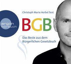 BGB - Das Beste aus dem Bürgerlichen Gesetzbuch, 3 Audio-CDs - Christoph Maria Herbst