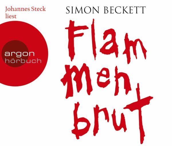 Flammenbrut, 6 Audio-CDs - Beckett, Simon