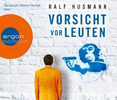 Vorsicht vor Leuten, 4 Audio-CDs - Husmann, Ralf