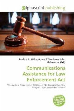 Communications Assistance for Law Enforcement Act