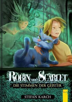 Buch-Reihe Robin und Scarlet von Stefan Karch