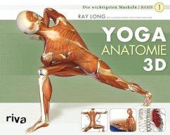 Yoga-Anatomie 3D - Long, Ray