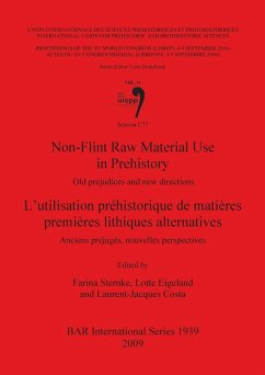 Non-Flint Raw Material Use in Prehistory / l'Utilisation Préhistorique de Matières Premières Lithiques Alternatives: Old Prejudices and New Directions - Sternke, Farina; Eigeland, Lotte; Costa, Laurent Jacques