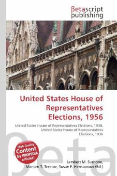 United States House of Representatives Elections, 1956