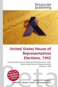 United States House of Representatives Elections, 1942