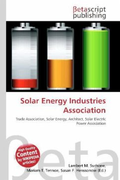 Solar Energy Industries Association - Fachbuch - buecher.de