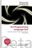 PL/I Programming Language One
