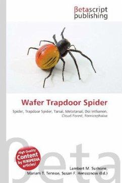 Wafer Trapdoor Spider