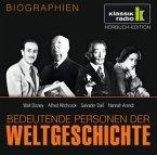 Bedeutende Personen der Weltgeschichte: Walt Disney / Alfred Hitchcock / Salvador Dalí / Hannah Arendt