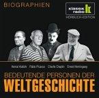 Kemal Atatürk. Pablo Picasso. Charlie Chaplin. Ernest Hemingway, 1 Audio-CD