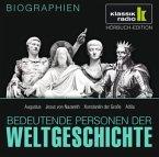 Bedeutende Personen der Weltgeschichte: Augustus / Jesus von Nazareth / Konstantin der Große / Attila