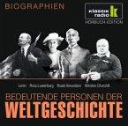 Bedeutende Personen der Weltgeschichte: Lenin / Rosa Luxemburg / Roald Amundsen / Winston Churchill
