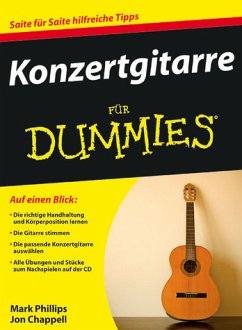 Konzertgitarre für Dummies, m. Audio-CD