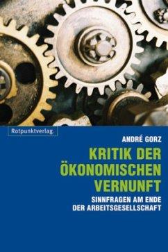 Kritik der ökonomischen Vernunft