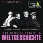 Bedeutende Personen der Weltgeschichte: Charles Darwin / Richard Wagner / Giuseppe Verdi / Otto von Bismarck