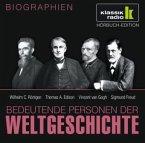 Wilhelm C. Röntgen. Thomas A. Edison. Vincent van Gogh. Sigmund Freud, 1 Audio-CD