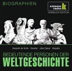Alexander der Große. Hannibal. Julius Caesar. Kleopatra, 1 Audio-CD