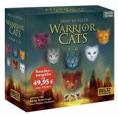 Warrior Cats, 28 Audio-CDs - Hunter, Erin