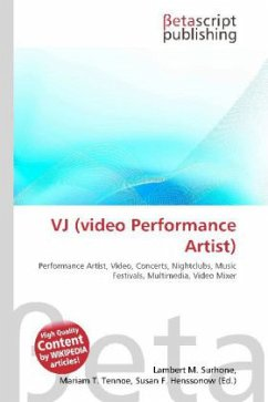VJ (video Performance Artist)