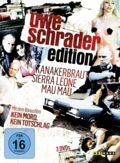 Uwe Schrader Edition DVD-Box - Redl,Christian/Franke,Peter