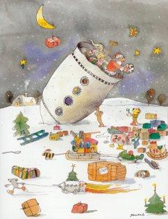 Weihnachtsrakete Adventskalender - Janosch